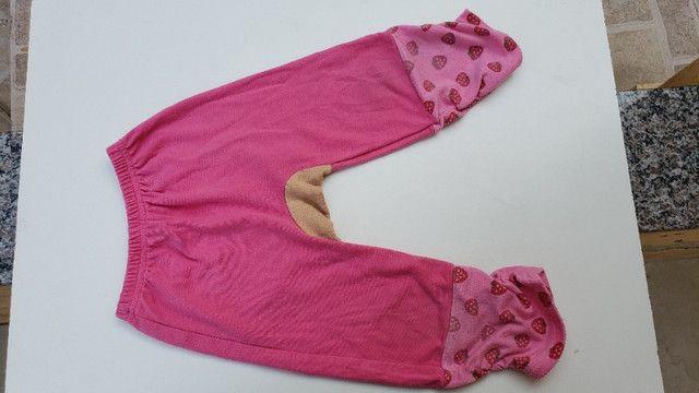Calça infantil moletom ursinho tamanho 2 - Foto 2
