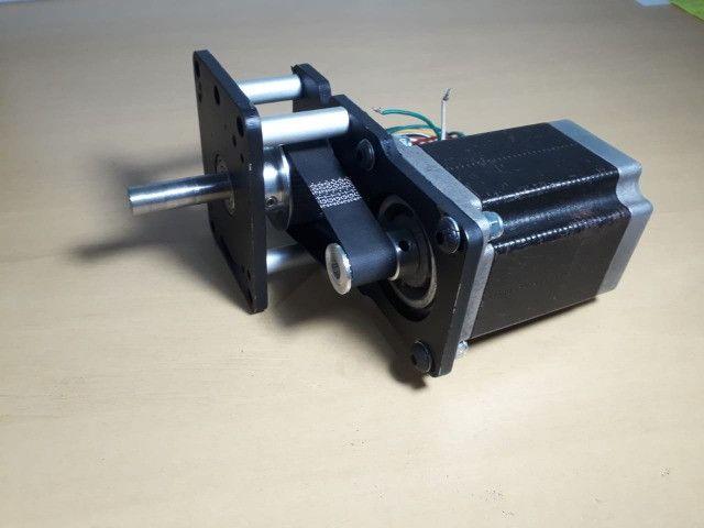 Motor De Passo Com Redução 1:3 Cnc Plasma,laser,router - Foto 5