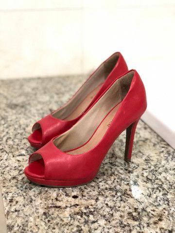 Sapato Peep Toe Bebecê - Foto 3