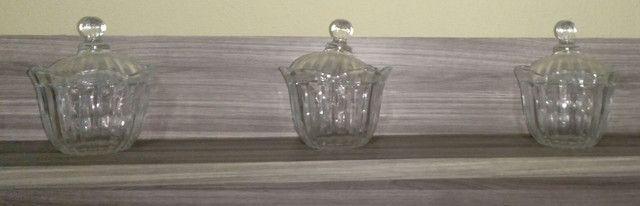 3 bomboniere de vidro  - Foto 3
