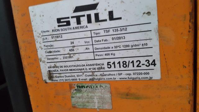 Paleteira Elétrica Still Completa ? Garfo Duplo 02 pallets 2013 - #2965 - Foto 2