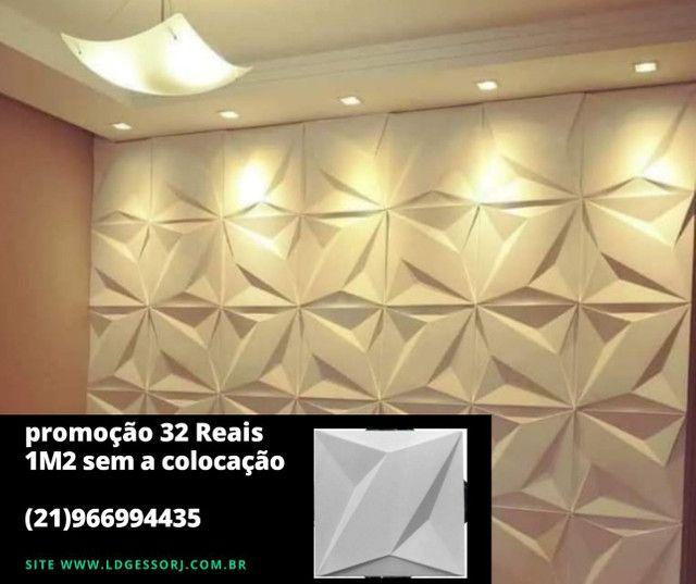 Promoção imperdível placas de gesso 3D direto da fábrica  - Foto 3