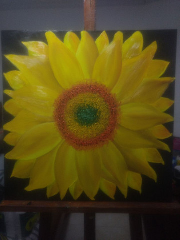 Pintura a Óleo tela 60por 60 - Foto 2