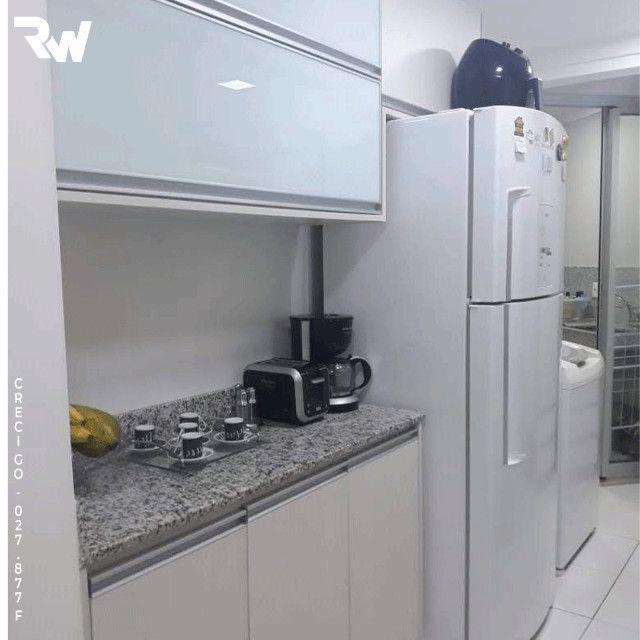 Apartamento 2 quartos sendo 1 suíte no baixo Bueno - Foto 3