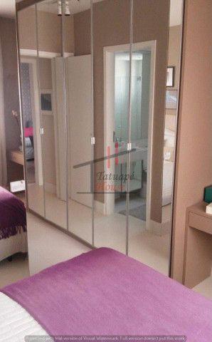 Apto Tatuapé 91 m2 (3 dorm 2 suites 2 Vagas Garagem Ampla Varanda Ótima Localização - Foto 4
