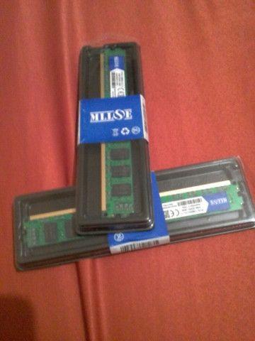 Kit 2 Memórias ram ddr3 4GB (2X4=8GB)