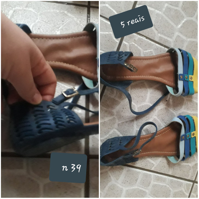 Vendo sapato n 34 36 38 39 40