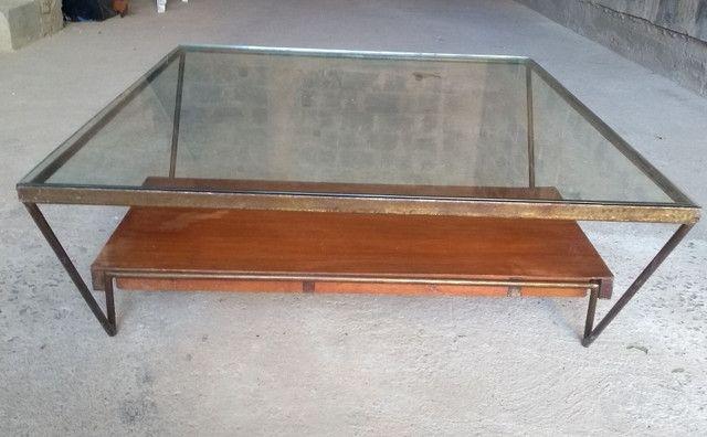 Mesa de centro de vidro semi-nova - Foto 3