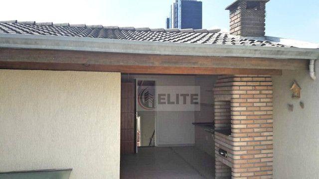 Sobrado com 4 dormitórios para alugar, 301 m² por R$ 6.500,00/mês - Vila Alpina - Santo An - Foto 15