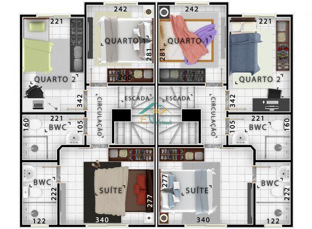 Casa à venda com 3 dormitórios em Bairro alto, Curitiba cod:SOC0007 - Foto 14
