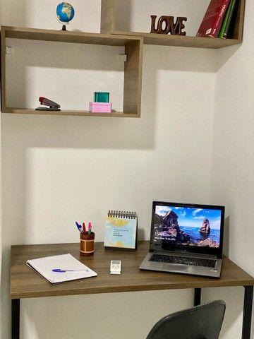 Apto no Parque dos Ipes WiFi FibraOtica ArCond Home Office em Dourados CPflats - Foto 4