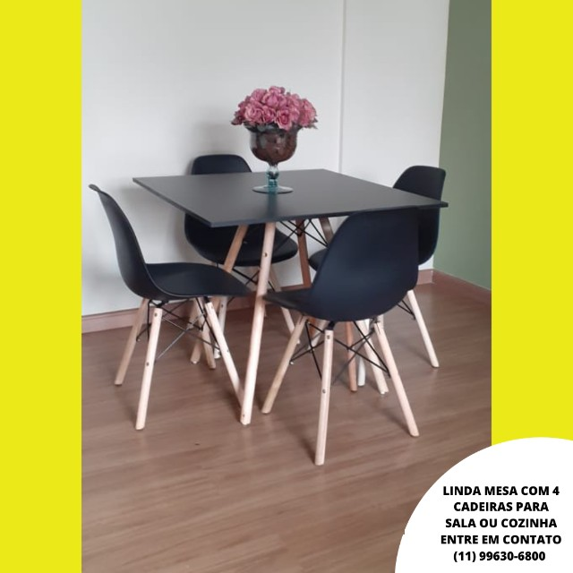 Mesa de Jantar com 4 Cadeiras - Foto 2