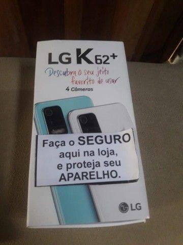 Celular LG K62+ 2021 Vendo ou Troco! - Foto 2