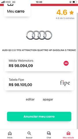 Audi Q3 2.0 tfsi quattro 2015 (ABAIXO DA TABELA FIPE) - Foto 7