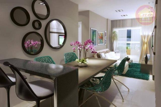 Apartamento à venda, 84 m² por R$ 370.000,00 - Tupi - Praia Grande/SP - Foto 5