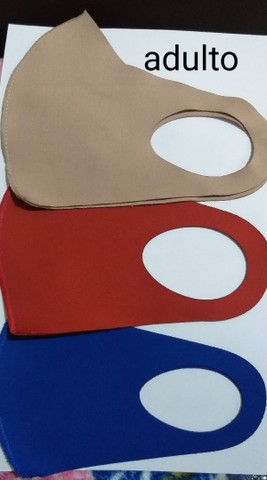 Máscaras neoprene tamanho padrão  - Foto 4