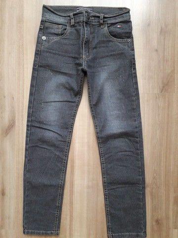 Calça jeans infantil menino tam 10 - Foto 2