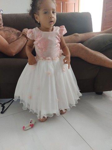 Vestido infantil de festa - Foto 4