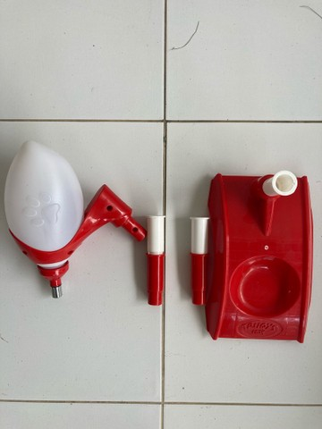 Bebedouro Bilha com altura ajustável (Truqys Pet) - Foto 6