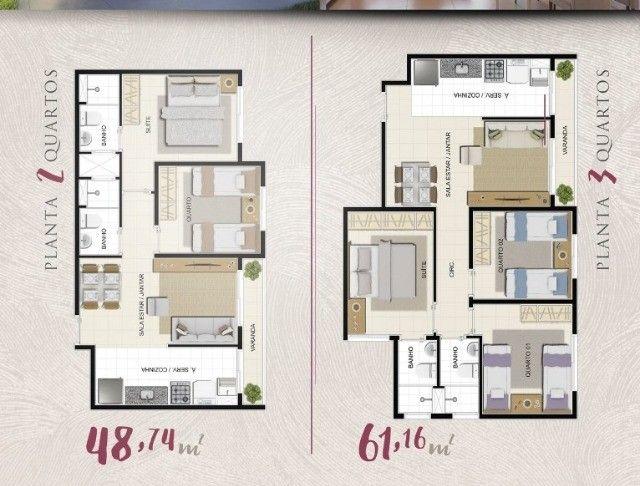 Parque Dez Tem Apartamento na planta ,2 e 3 dormitórios , financiado.  - Foto 2