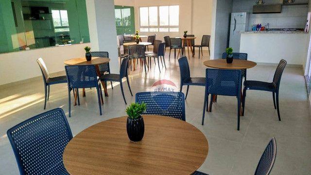 Apartamento com 3 dormitórios à venda, 101 m² por R$ 445.817,00 - Carapibus - Conde/PB - Foto 6