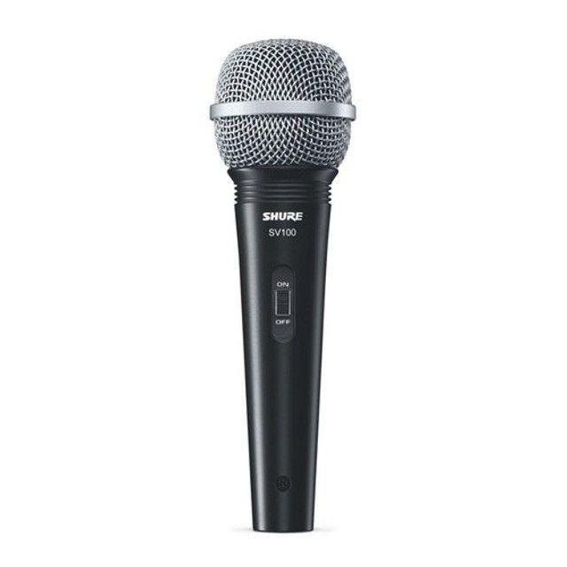 Microfone Dinâmico Shure SV100 Com Cabo. Original. Novo. Garantia 1 Ano. - Foto 2