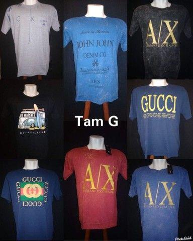 Camisetas de diversas marcas - Foto 2
