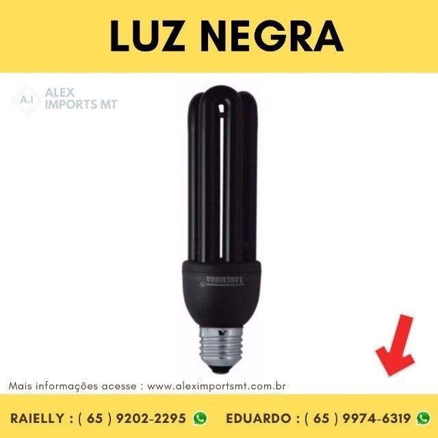 Lâmpada Fluorescente 3U 26 Watts E27 127V Luz Negra