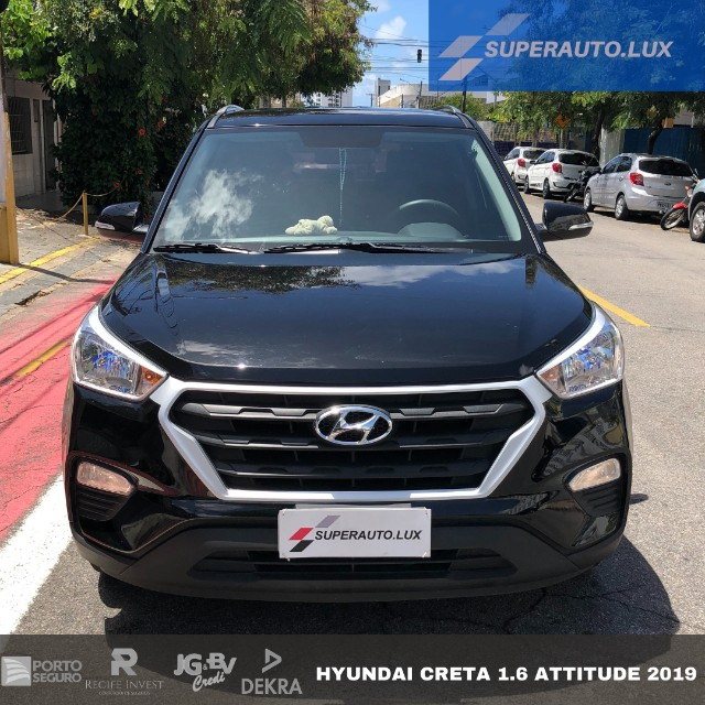 Hyundai Creta 1.6 Attitude AT6 2019