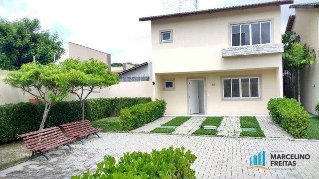 Casa com 3 dormitórios para alugar, 104 m² por R$ 1.109,00/mês - Lagoinha - Eusébio/CE