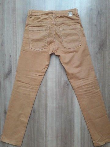 Calça jeans infantil tam 8 - Foto 5