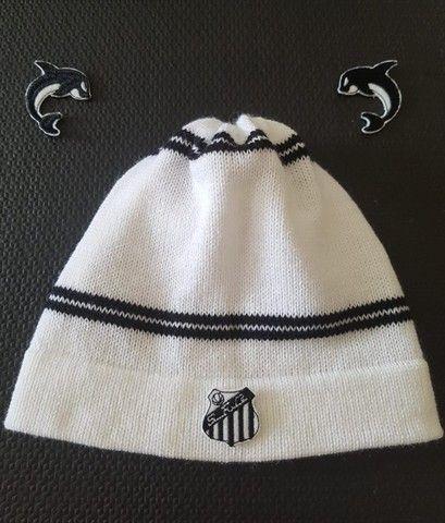 Gorro De Lã Customizável Santos Futebol - Foto 4