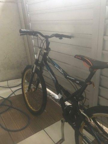 Bicicleta Aro 26 Caloi Andes 21 Marchas e Suspensão - Foto 2