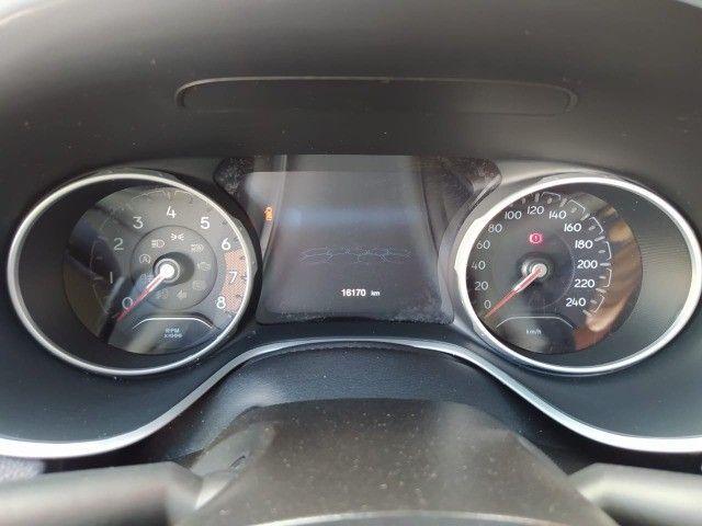 Compass Longitude Branco 2020 Flex Apenas 16 mil kms aceita seu carro na troca  - Foto 5