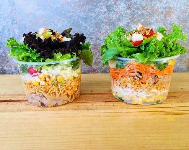 Kits de salada no pote e sanduíche natural - Foto 2