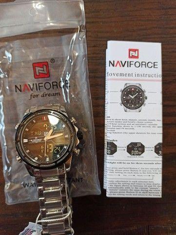 Relógio masculino NAVIFORCE - Foto 2