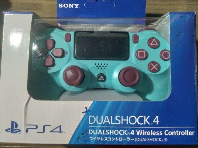 Controle Berru Blue Ps4 Dual Shock 4 Revolucionário e Preciso