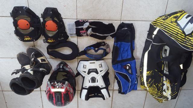 Equipamento Moto e Motocross