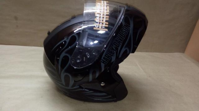 Capacete escamoteável, original Harley Davidson com Dot - Foto 4