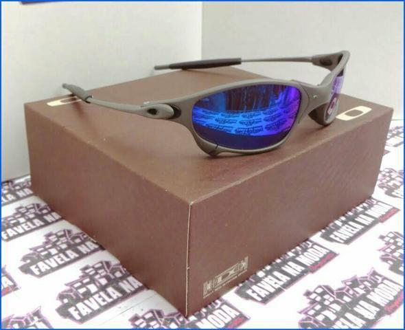 f487373be Óculos Oakley Juliet xmetal azul Novo na caixa Frete grátis ...