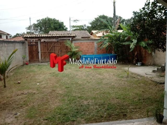 Cód: 2641 Excelente casa 2 quartos 2 suítes, amplo quintal Barra de São João