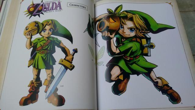 Livro Zelda ArtBook artifacts