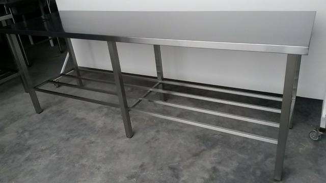 Mesa nova Inox - Gegê - Produto BArbada NOVO