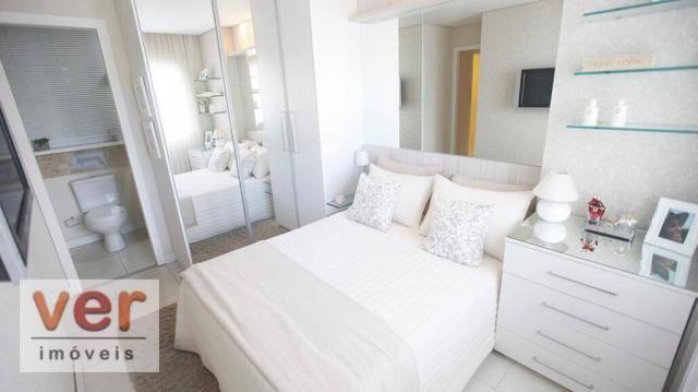 Apartamento com 2 dormitórios à venda, 52 m² por R$ 279.000,00 - Presidente Kennedy - Fort - Foto 3