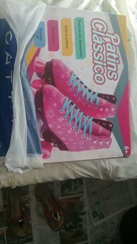 Estou vendendo estes patins número 37/38