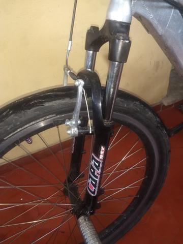 Suspensão para bicicleta