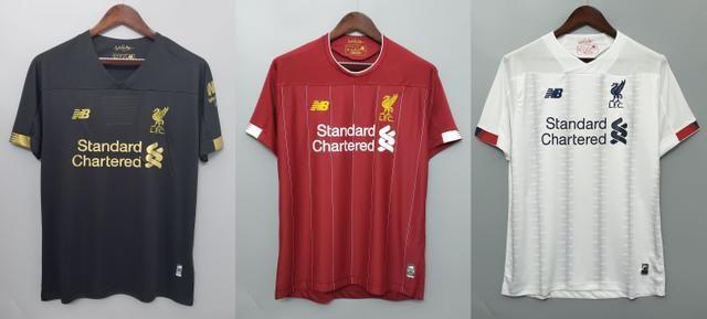 Camisas Liverpool 2019/20