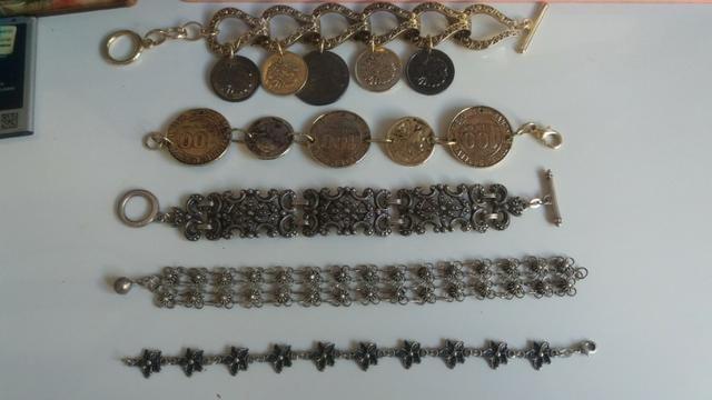 5 pulseiras