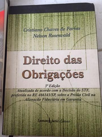 Direito Civil: Direito das Obrigações - Cristiano Chaves e Nelson Rosenvald (ano 2008)