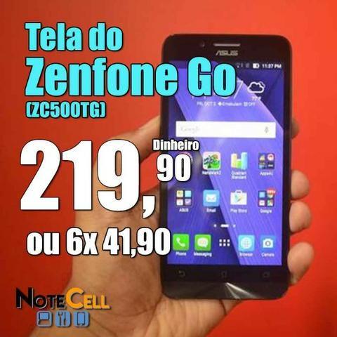 Tela do Zenfone Go